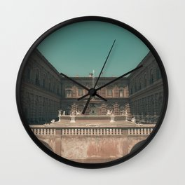 Boboli Gardens, Florence, Italy Wall Clock