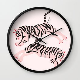 fierce females Wall Clock