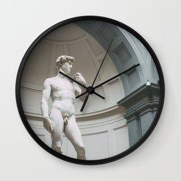 Florence, I Statue of David Wall Clock