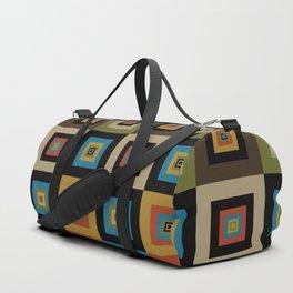 Retro Square Duffle Bag