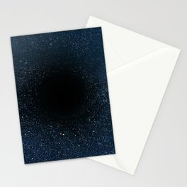 Black hole Stationery Cards