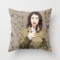 Regina Spektor Throw Pillow
