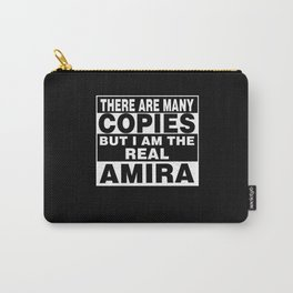 I Am Amira Funny Personal Personalized Gift Carry-All Pouch