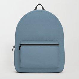Weldon Blue  solid color Backpack