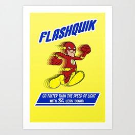 FlashQuik Art Print