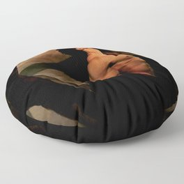 Man Life Floor Pillow