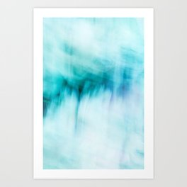 Abstract Waterfall Art Print