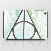 deathly hallows iPad Cases featuring Deathly Hallows by Carmen McCormick