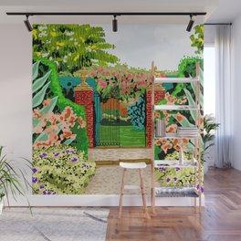 Gated Garden Wall Mural