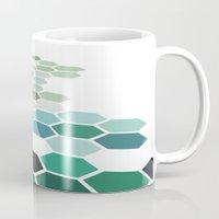 colorado Mugs featuring Colorado by Bakmann Art