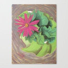 Flower Girl Dancing Canvas Print