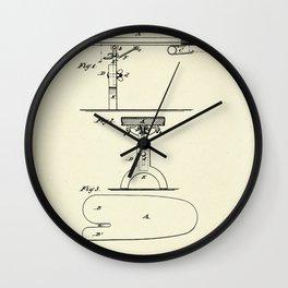 Ironing Boards-1877 Wall Clock