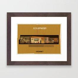 Goldfinger_ Directed by Guy Hamilton Framed Art Print