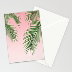 Palm Tree Leaves Stationery Cards