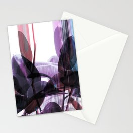 Tropical Glitches Stationery Cards