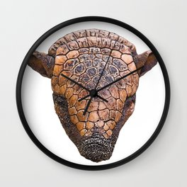 Armadillo Face Mammal Dirty Anonymous Thick Skin Wall Clock