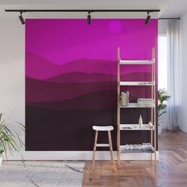 Purple Landscape Wall Mural