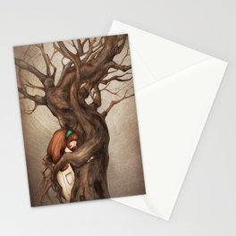 I love you, Old Tree! Stationery Cards