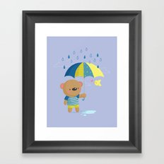 Rainy Season Framed Art Print