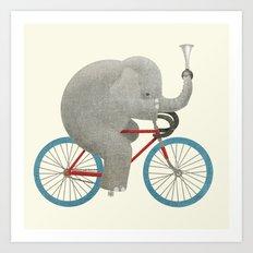 Ride (colour option) Art Print