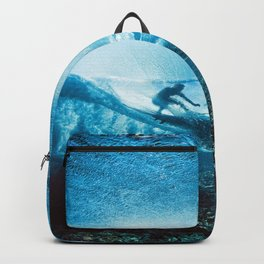 Wave Series Photograph No. 24 - Beneath the Surface Backpack