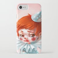 makeup iPhone & iPod Cases featuring Makeup by Joelle Murray