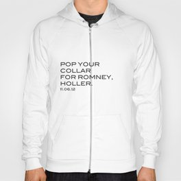 Pop your collar Hoody