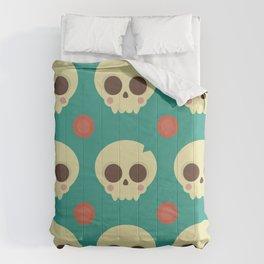 Skulls & Dots Comforters