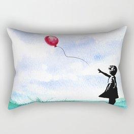 Goodbye Rectangular Pillow