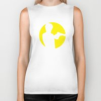 taxi driver Biker Tanks featuring Taxi driver quote v2 by Buby87
