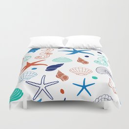 Just for the Shell of it Duvet Cover