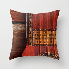 The Good Old Ukelin Throw Pillow