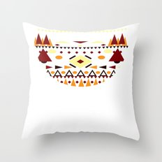 ∆ztek Circle Throw Pillow