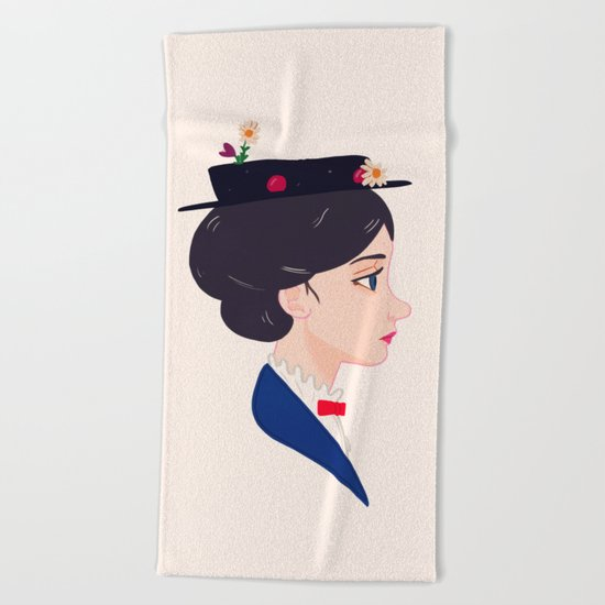 A Spoonful of Sugar Beach Towel