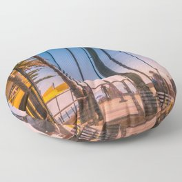 Slices Of Life  (digital painting) Floor Pillow