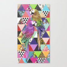 A bit of tropical geometry Canvas Print