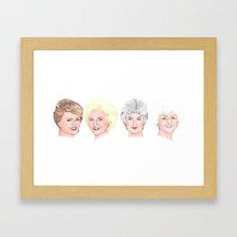The Golden Girls 2 Framed Art Print