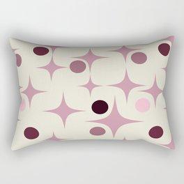 Retro Pattern Rose Rectangular Pillow