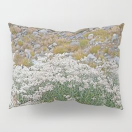 PEARLY EVERLASTING IN AN ALPINE MEADOW Pillow Sham
