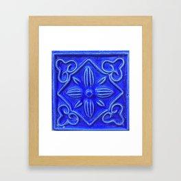 Tile -Ceramic Framed Art Print