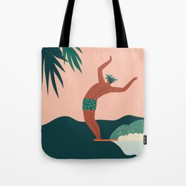 Go with a flow Tote Bag