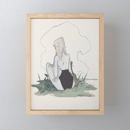 comtemplation Framed Mini Art Print
