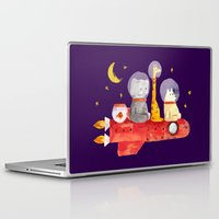 bruno mars Laptop & iPad Skins featuring Let's All Go To Mars by Picomodi