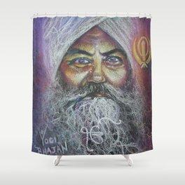 YOGI BHAJAN Shower Curtain