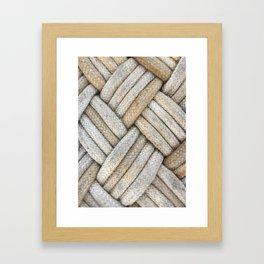 Diamond Knots Framed Art Print