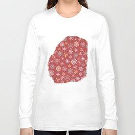 christmas snow Long Sleeve T-shirt