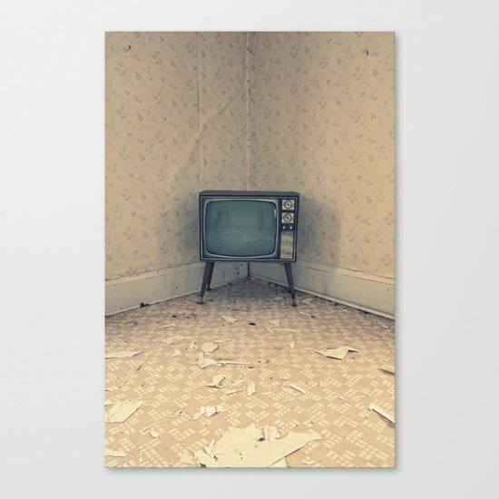 Television Set Canvas Print