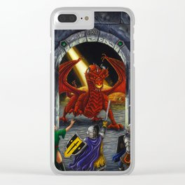 Gateway to Adventure Clear iPhone Case