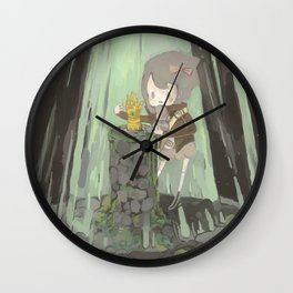 Lost Gauntlet Wall Clock