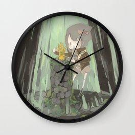 Lost Gauntlet Wall Clock